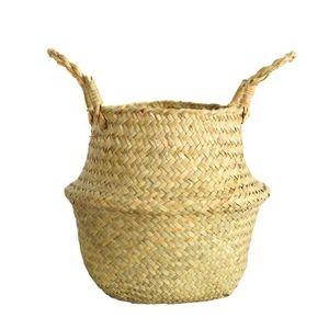 PANIER A LINGE mosakog® Seagrass panier en osier panier en osier