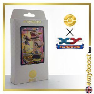 CARTE A COLLECTIONNER KANGASKAN (KANGOUREX) EX 103-106 FULL ART - #myboo
