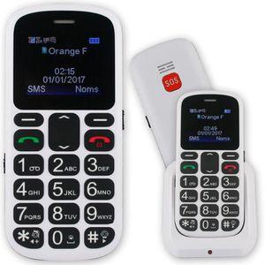 Téléphone portable Le Classic Salsa, téléphone portable pour senior.