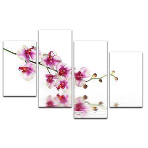 TABLEAU - TOILE Impression sur toile - Branche d'orchidée 120 x 80