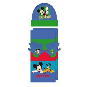 BONNET - CAGOULE MICKEY ET SES AMIS - Ensemble bonnet écharpe gants f8d2b29ae8e