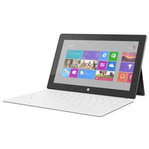 TABLETTE TACTILE MICROSOFT SURFACE 64GB + TOUCH COVER BLANC