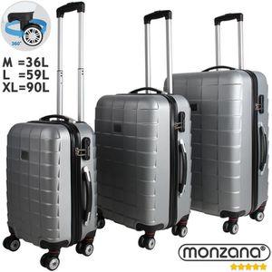 SET DE VALISES Set de 3 valises étui rigide avec verrou pour busi