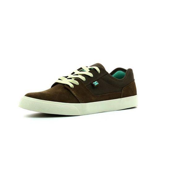 Baskets basses DC shoes Tonik  Marron - Achat / Vente basket