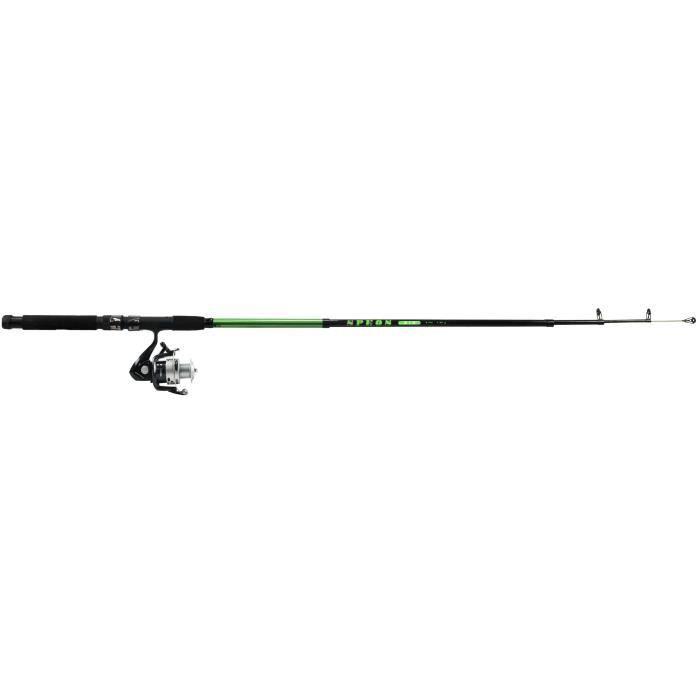 Canne à pêche combo mini lancer télescopique - 2,10 m