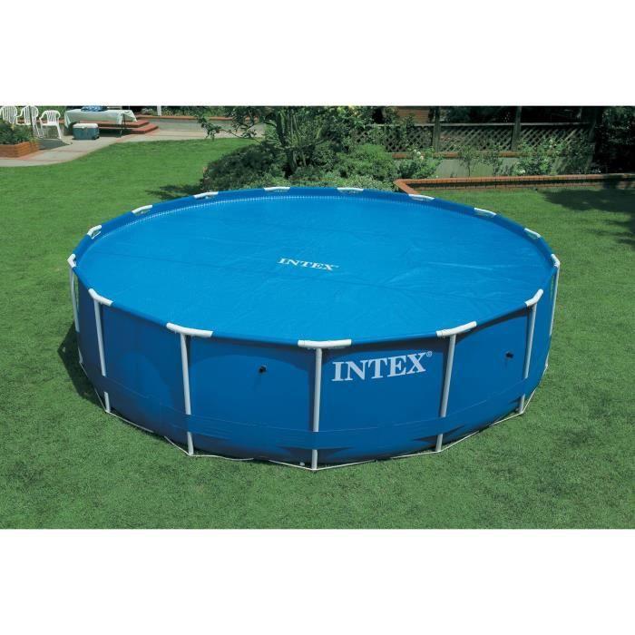 INTEX Bâche à bulles piscine ronde diamètre 3,05 m