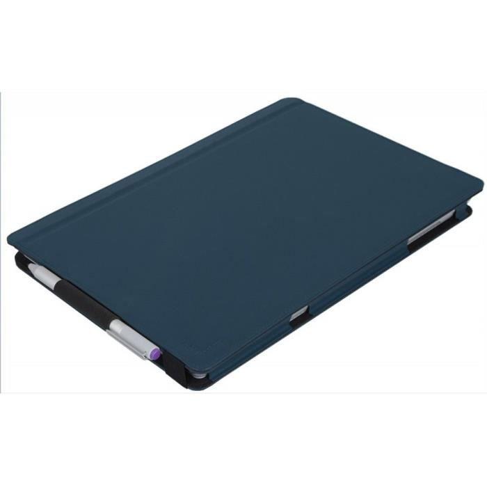 URBAN FACTORY Elegant Folio Protection à rabat - Pour Surface Pro 4 - Bleu Vert
