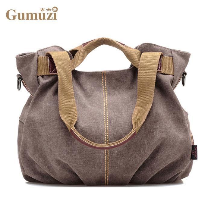 sac à main Femmes en toile Sacs pour femmes Designer de haute qualité Bolsa Feminina-107