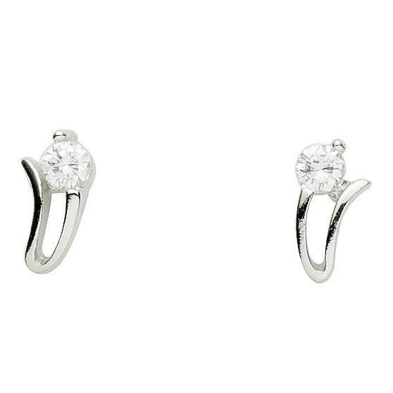 Basic Silber - Basique Argent 01.1118 Femmes clou Argent ZirconiaRéf 38930