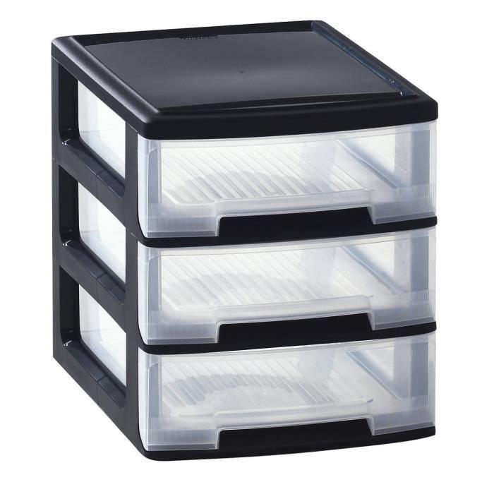 allibert tour de rangement 3 tiroirs babel format a4 3x5 l achat vente etabli meuble. Black Bedroom Furniture Sets. Home Design Ideas