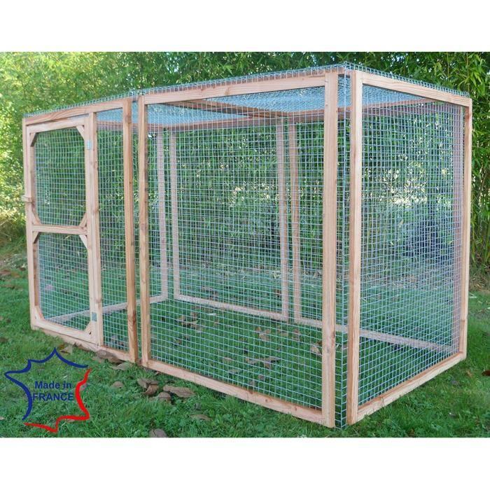 enclos poules anti predateurs 100x100x100 6 faces 3 m tres achat vente poulailler enclos. Black Bedroom Furniture Sets. Home Design Ideas