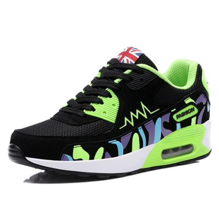Femme Air Chaussures de Sport Sneaker Respirant...
