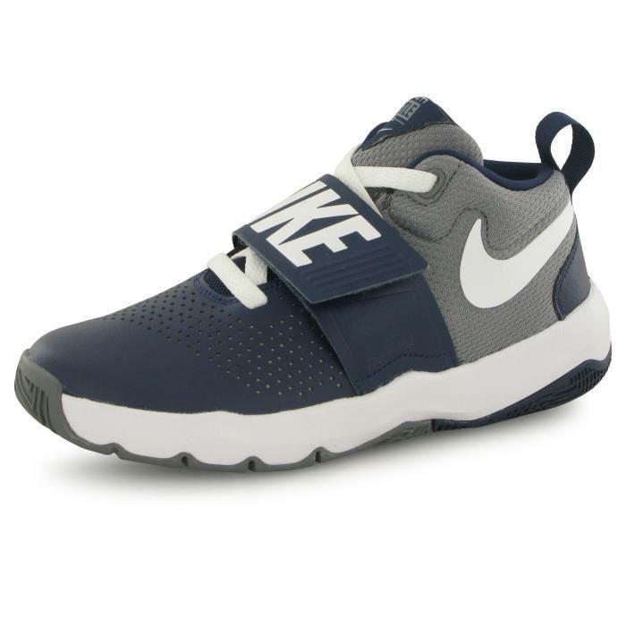 newest a4066 2380b CHAUSSURES BASKET-BALL Nike Team Hustle 8 bleu, chaussures de basketball