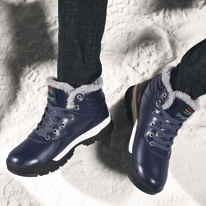 hiver Mode Chaussures Bottines Size Casual 47 Hommes 46 Plus 48 TqYwORWU