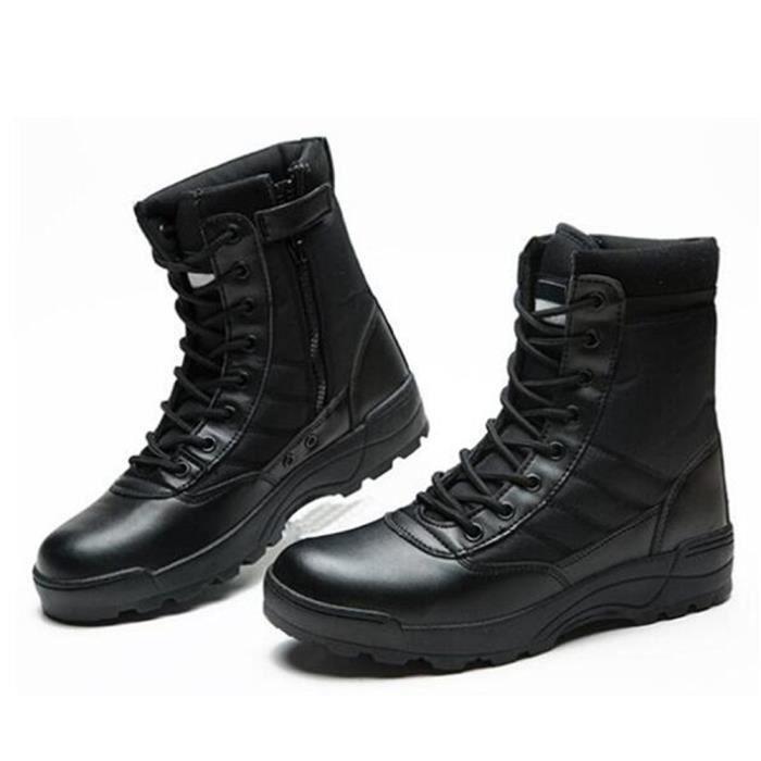 Chaussures Homme Marque de luxe 2018 ete Nouvelle Mode Martin Bottine Haut qualité Durable Bottine Hommes Confortable Grande Taille