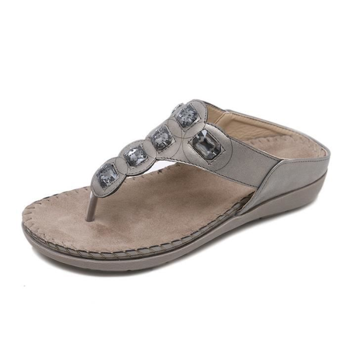 TONG Sandale Chaussures Tong Mule sport Femme