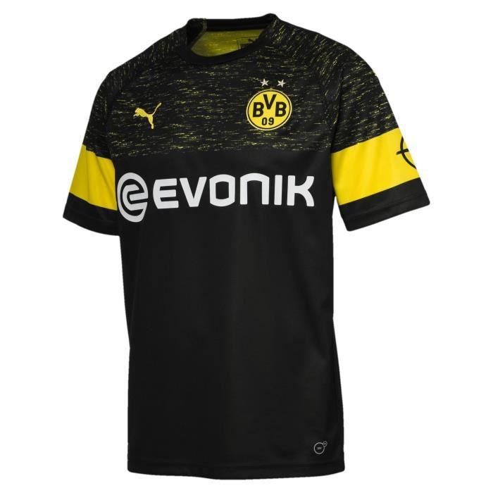 929dc1f93a76d Maillot extérieur Borussia Dortmund 2018/2019. MAILLOT DE FOOTBALL ...