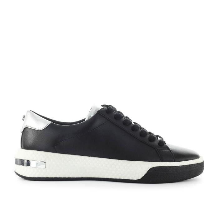 magasiner pour le luxe pas mal meilleurs prix Chaussures Femme Basket Codie Noir Argent Michael Kors FW 19-20