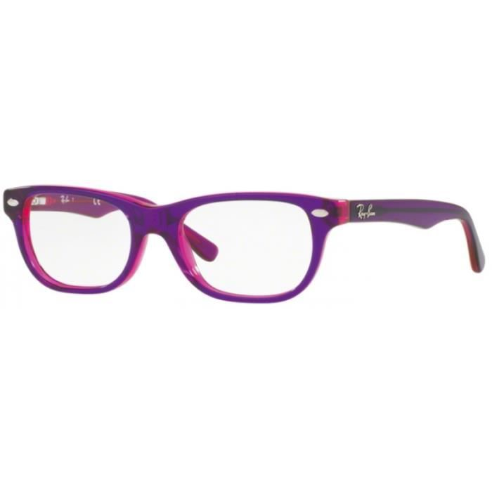 f99d39e9c8e98e Lunettes de vue pour enfant RAY BAN Violet RY 1555 3666 46 16 ...