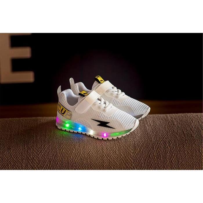 2018 printemps nouvelles chaussures de lumière pour enfants induction LED zYZV22ZJ9