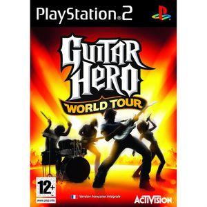 JEU PS2 GUITAR HERO WORLD TOUR JEU SEUL / Jeu console PS2
