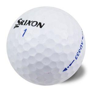 BALLE DE GOLF SRIXON Lot de 50 Balles de Golf Srixon Ad 333 Reco
