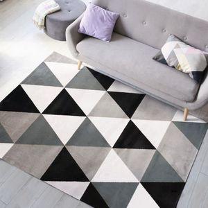 TAPIS TAO SCANDI Tapis de salon - 150 x 220 cm - Polypro