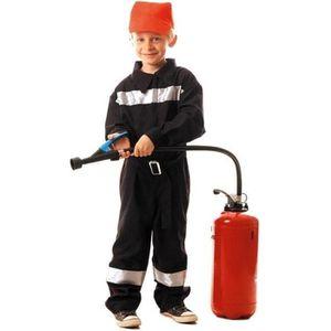 DÉGUISEMENT - PANOPLIE Déguisement de Pompier Français enfant 7-9 ans