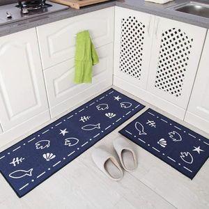 Tapis cuisine antiderapant lavable - Achat / Vente pas cher