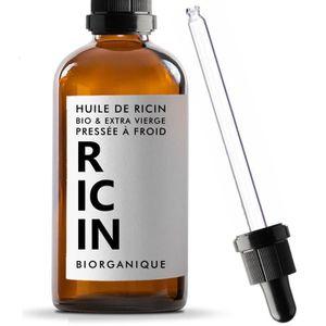 HYDRATANT CORPS Huile de Ricin - 100% Bio et Pure - Pressée à froi