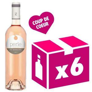 VIN ROSÉ Perle de Roseline 2016 vin rosé 6x75cl Côtes de Pr
