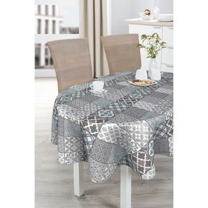 nappe toile ciree ovale achat vente nappe toile ciree ovale pas cher cdiscount. Black Bedroom Furniture Sets. Home Design Ideas
