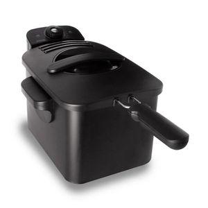 FRITEUSE Inventum friteuse cool zone en noir 3 L GF431B