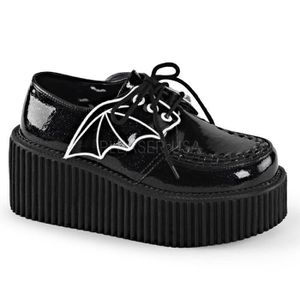 BOTTINE Chaussures creepers bat wings