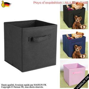 BOITE DE RANGEMENT 6 Pcs Tiroir de rangement tissu pliable 26,9 * 26,
