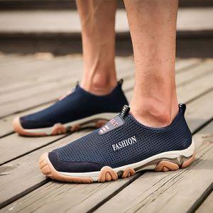 88c3d562b1 CHAUSSURES DE RANDONNÉE Mesh Chaussures Respirant Non-Slip Randonnée Décon