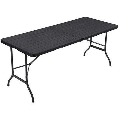 SONGMICS large Table de jardin pliante, Surface en Plastique ...
