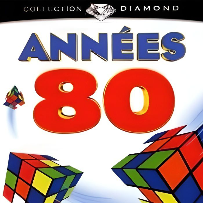 annee 80 collection diamond achat cd cd compilation pas cher. Black Bedroom Furniture Sets. Home Design Ideas