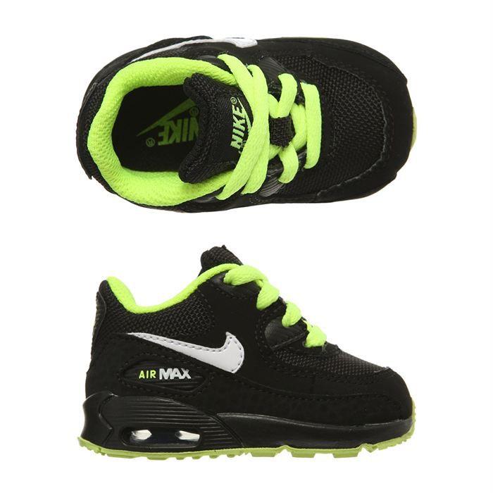 Nike Et 90 Fluo Vente Air Max Baskets Bébé Vert Noir Achat yn0ON8vmwP