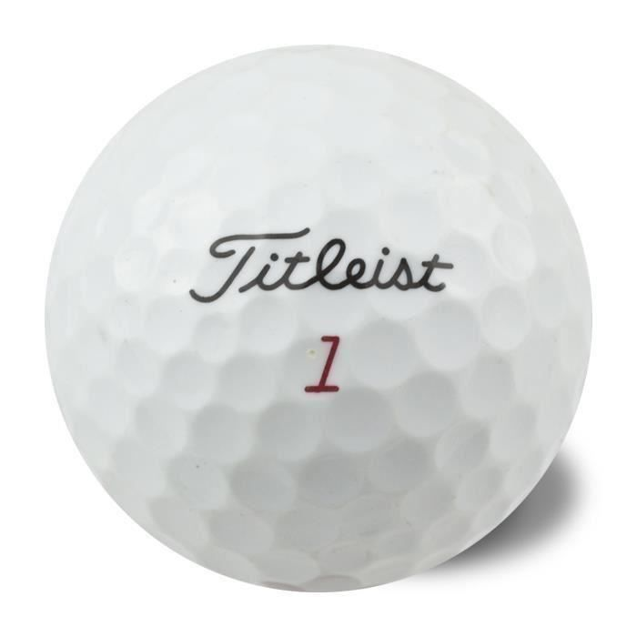 TITLEIST Lot de 50 Balles Titleist Mixed Reconditionnées