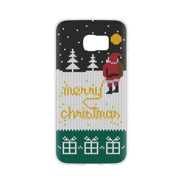 FLAVR Coque Cardcase Ugly Xmas Sweater College Santa - iPhone 7