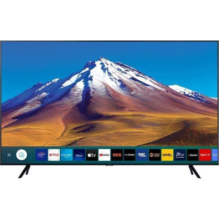 """Plus de détails SAMSUNG 65TU7022 TV LED 4K UHD - 65 """" (163cm) - HDR10 + - Dolby Digital Plus - Smart TV - 2xHDM"""