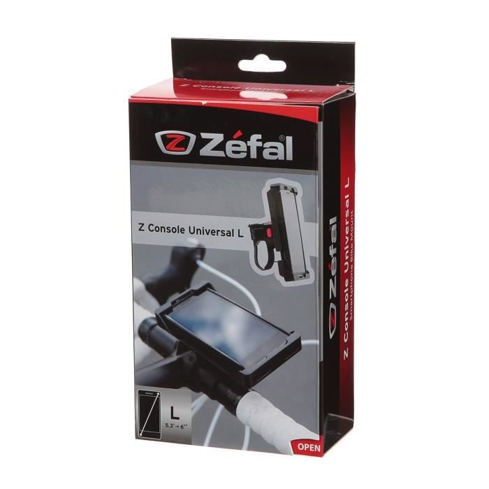 ZEFAL Support guidon Universel Smartphone L Z Console Universal