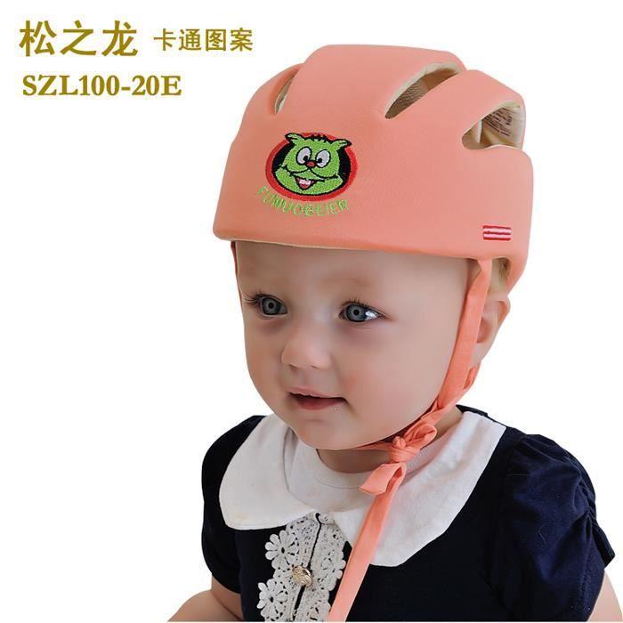 bonnet de protection b b anti collision casque chapeau de protection enfant no choc douce. Black Bedroom Furniture Sets. Home Design Ideas