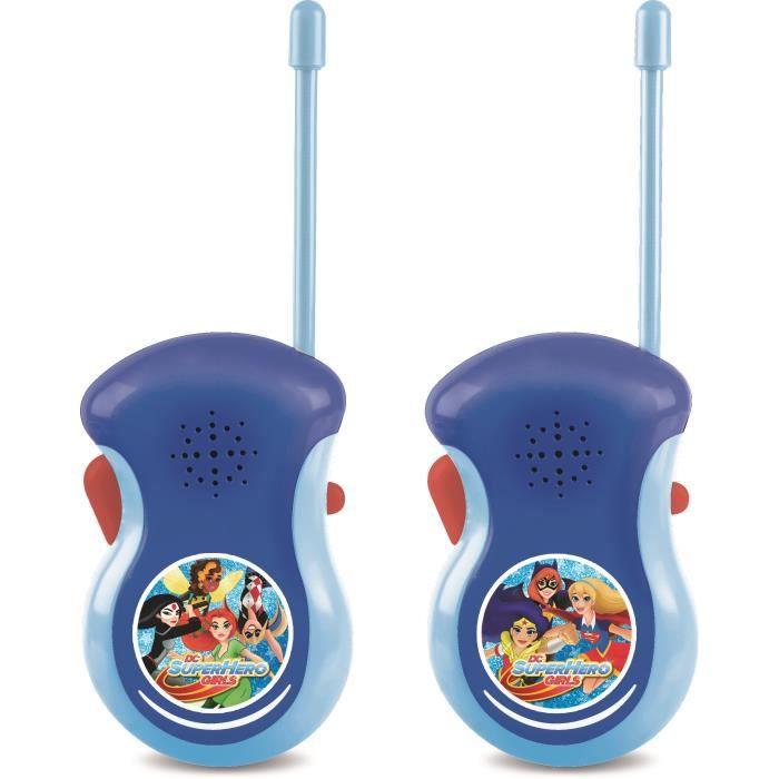 dc super hero girls talkie walkie achat vente talkie walkie jouet cdiscount. Black Bedroom Furniture Sets. Home Design Ideas