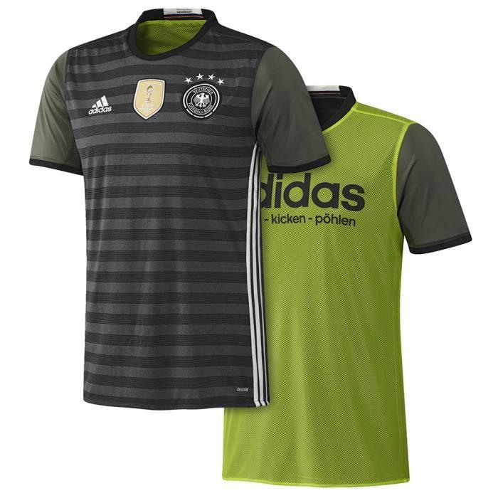 Allemagne Adidas Maillot Allemagne Extérieur 15-16 Gris - Achat ... 6adc0368163