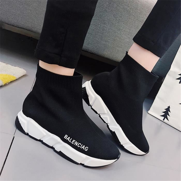 5c0b2ac757c Sneakers Femme Marque De Luxe Loisirs Chaussure 2018 Durable ...