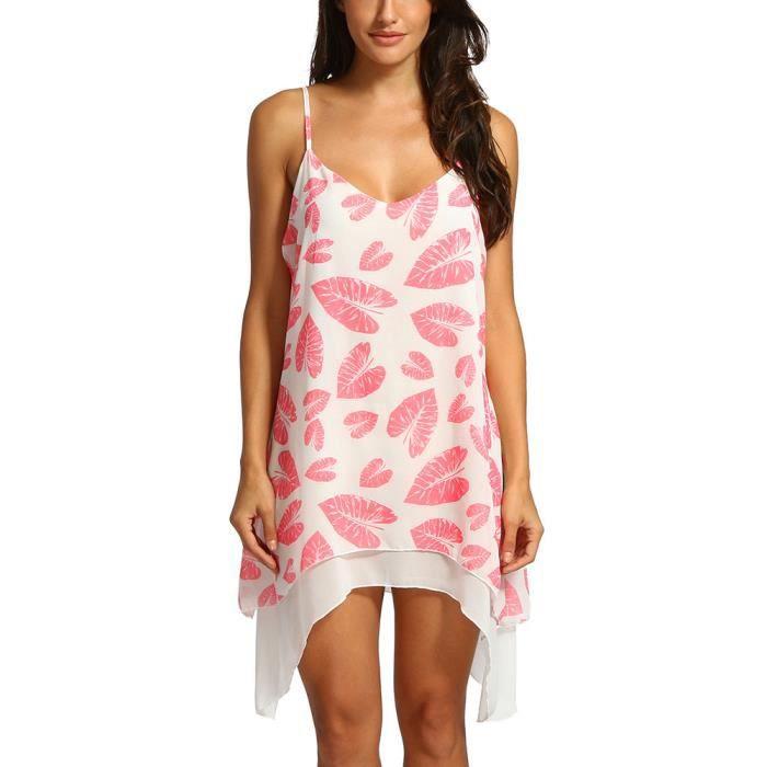 Size Top Femme Rose T shirt Plus Casual Chemisier Crop Manches V Col Imprimé En vd5qOOa