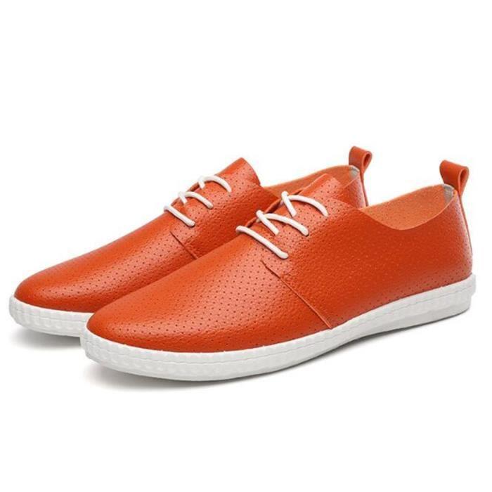 Sneaker Mode Homme Marque De Luxe Brand Chaussures décontractées Hommes personnalité Les chaussures de loisirs Plus De Couleur Bz3YNTbxm