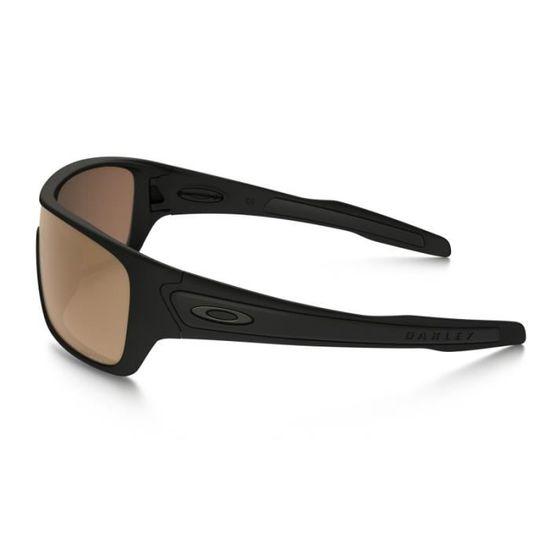 efca43092e92e7 Lunettes Oakley Turbine Rotor Matte Blk Prizm Tungsten Pol Noir - Achat    Vente lunettes de soleil Mixte Adulte Noir - Soldes  dès le 9 janvier !  Cdiscount